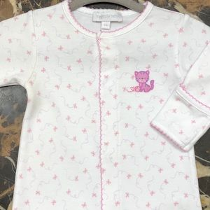 "Magnolia Baby Girls' 3M ""Kitty"" Footie Pajama Suit"